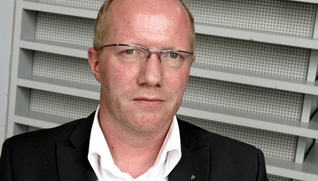 Generalsekretær Arne Jensen i Norsk Redaktørforening. Foto: Birgit Dannenberg