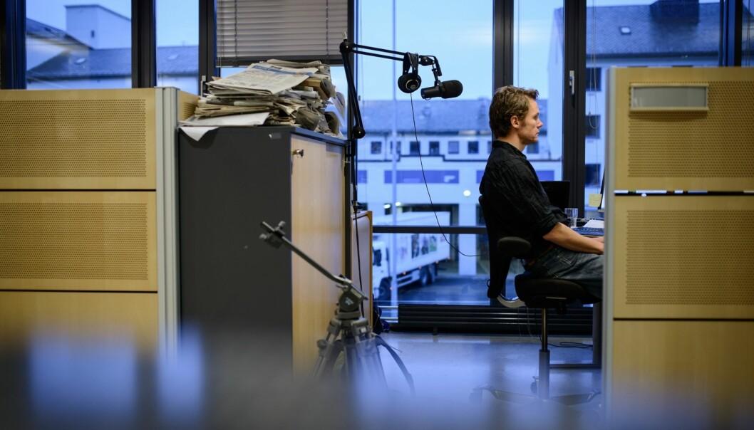 Bjørn Vatne ble så fornøyd med å ha skapt debatt at arbeidspresset i hverdagen førte ham tilbake til gamle rutiner. Foto: Privat