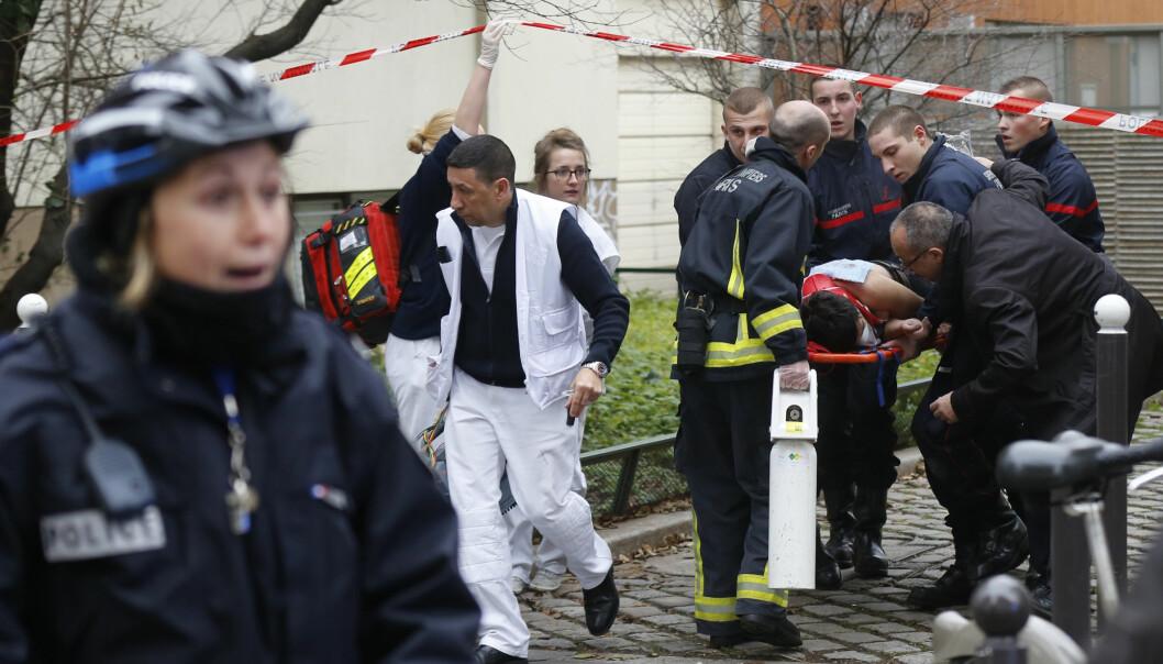 Franske etermedier får sterk kritikk for dekningen av terroraksjonene i Paris i januar. Foto: Jacky Naegelen/Scanpix