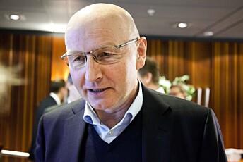 Didrik Munch, tidligere konsernsjef i Media Norge.