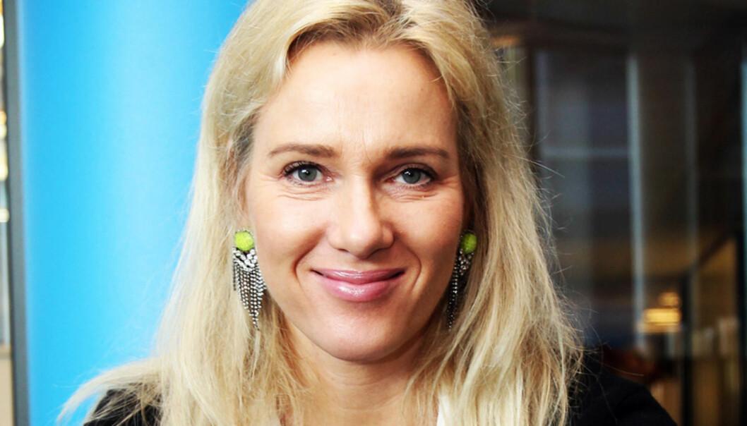 Gjyri Helén Werp har ansvaret for Henne og KK som redaktør for Kvinner Trend i Aller Media. Foto: Birgit Dannenberg