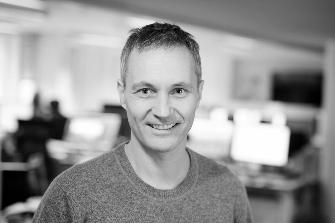 Svein-Erik Hole er digitalredaktør i Teknisk Ukeblad Media. Foto: Eirik Helland Urke/TU