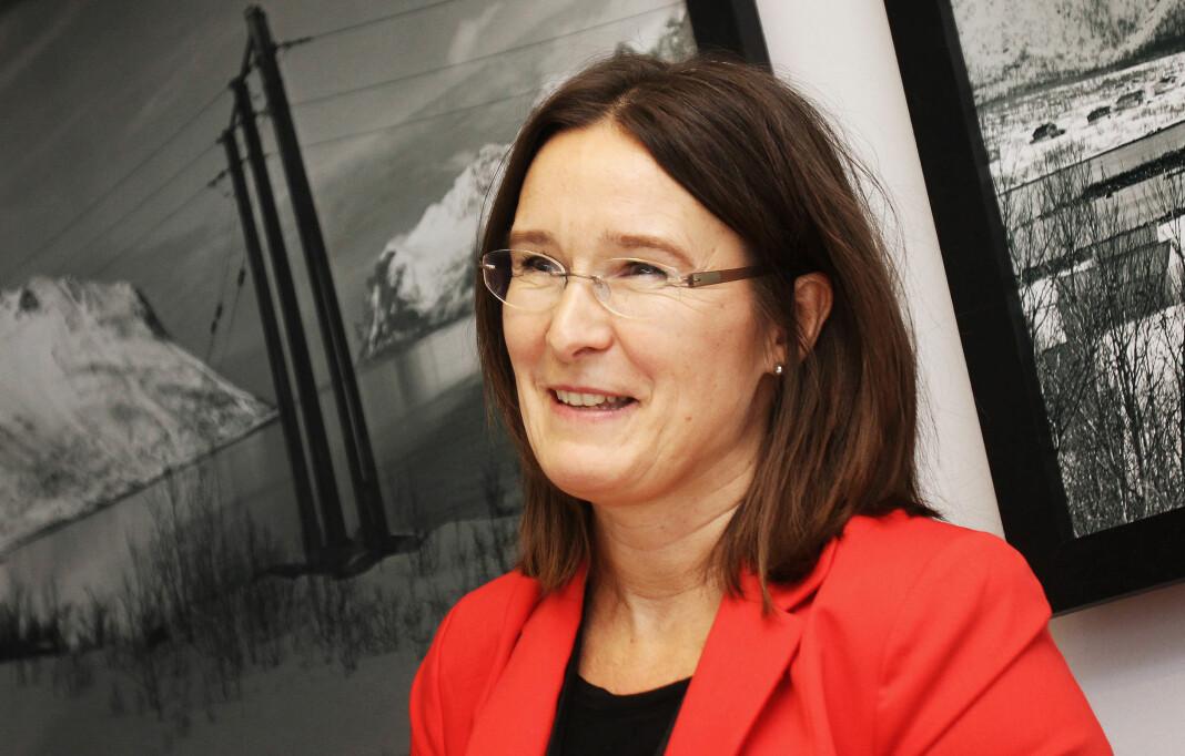Britt Sofie Hestvik er ansvarlig redaktør i Kommunal Rapport. Hun mener automatisering kan bidra til at fagbladet får mer ut av ressursene. Arkivfoto: Birgit Dannenberg