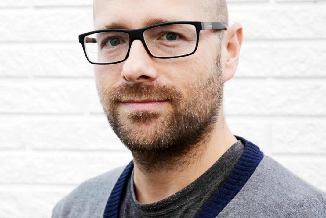 Lars Østraat er i dag ansvarlig redaktør i Trønderbladet. Nå skal han også lede Opdalingen. Foto: Privat
