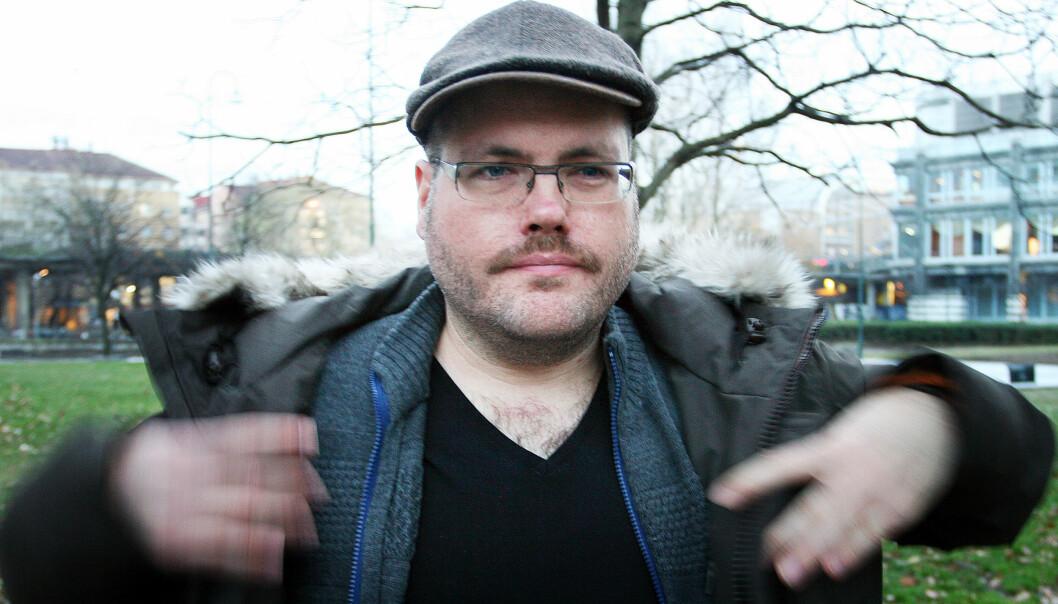 Gunnar Tjomlid. Arkivfoto: Glenn Slydal Johansen.