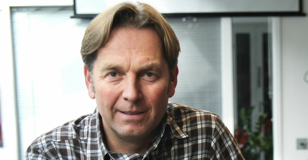 Trond Idås er rådgiver i Norsk Journalistlag, og har forsket på stress- og traumebelastninger som rammer journalister. Arkivfoto: Kathrine Geard