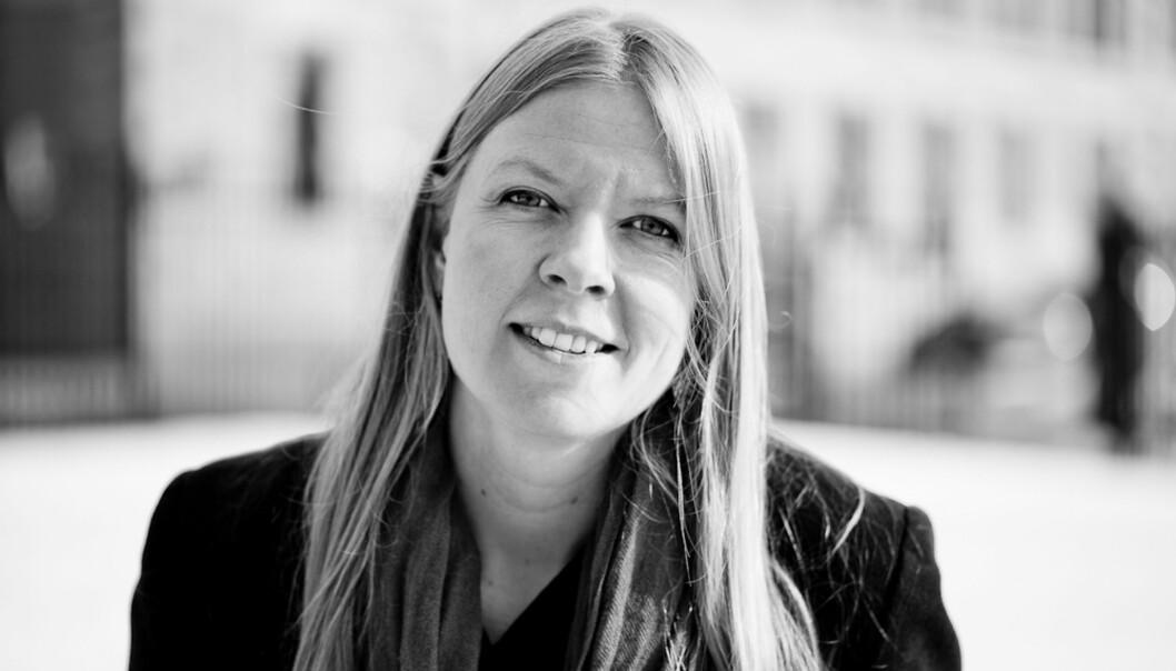 Leder Ida Habbestad i Norsk Kritikerlag. Foto: Gry Monica Hellevik