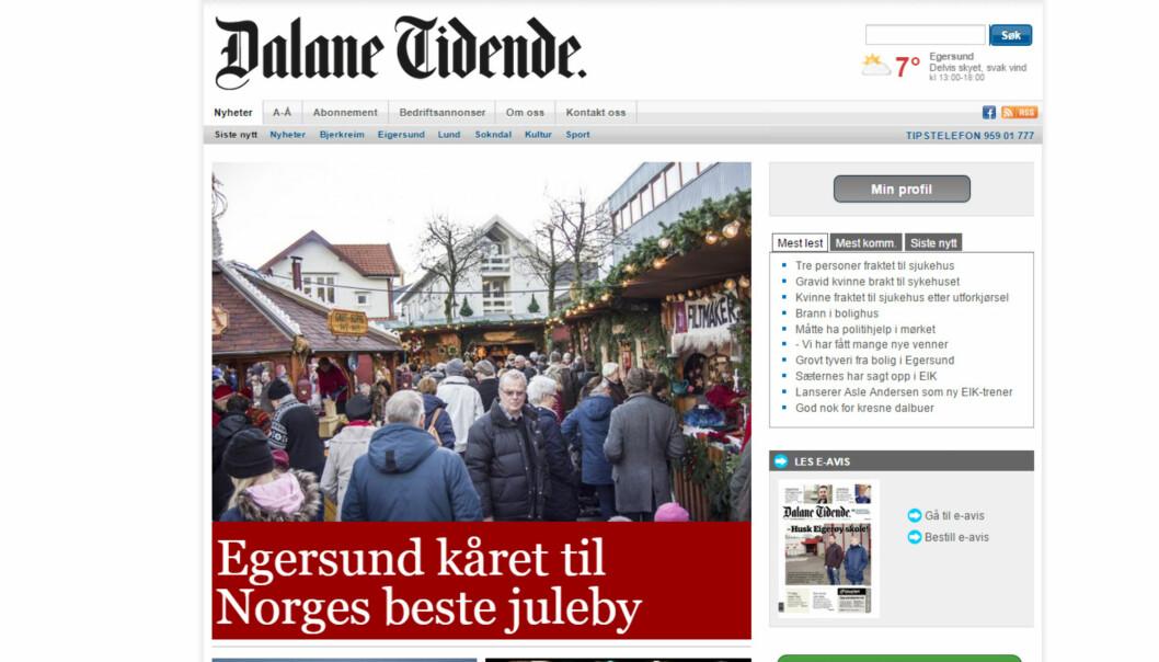 Visst er det fin-fint for en lokalavis når en av landets største publikasjoner kårer hjembyen til landets beste juleby. Ulempen er når man går glipp av at kåringen ikke er journalistisk motivert.