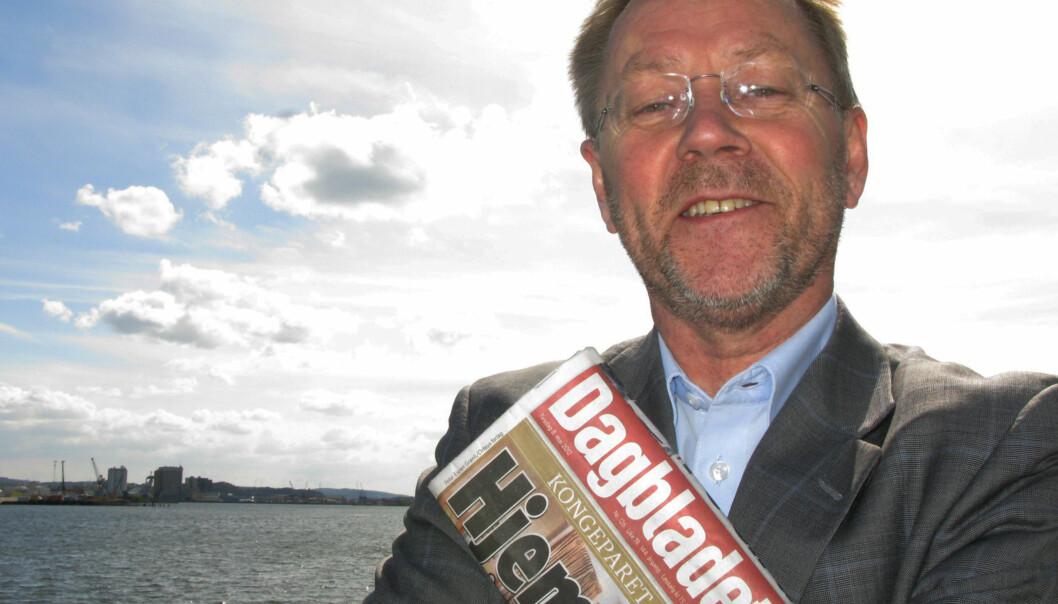 Fortsatt bidrar Dagbladets papirutgave med gode penger inn i Aller, men i løpet av et år eller to kan den gradvis bli avviklet, melder DN. Sjefredaktør John Arne Markussen vil ikke kommentere planene konkret. Arkivfoto: Martin Huseby Jensen