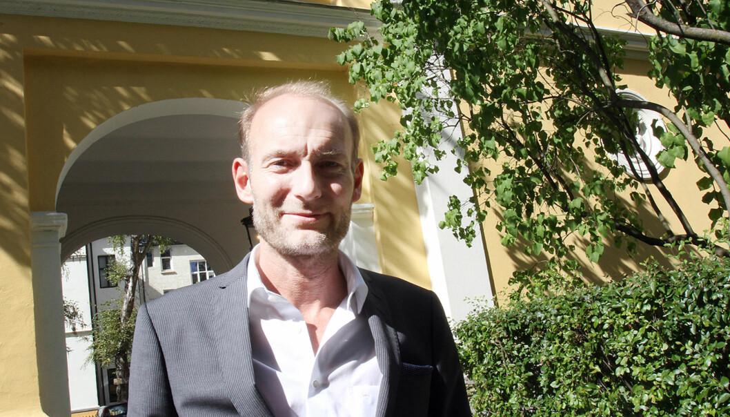 Knut Olav Åmås gir ut 30 millioner kroner til medieprosjekter. Foto: Birgit Dannenberg