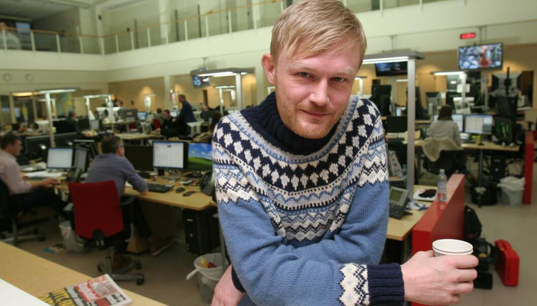 Baard Zakariassen jobber til daglig i TV 2. Arkivfoto Journalisten
