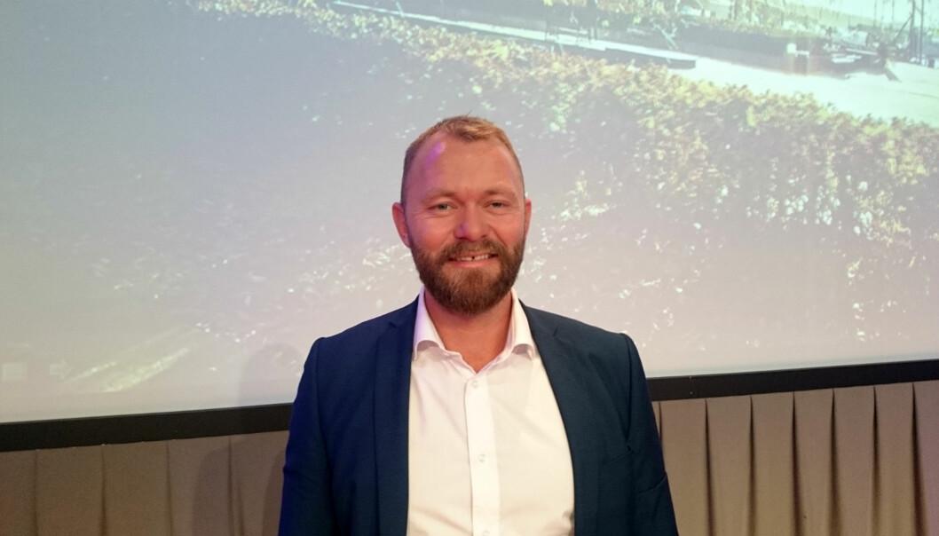 Sindre Østgård i Stiftelsen Tinnius. Foto: Glenn Slydal Johansen