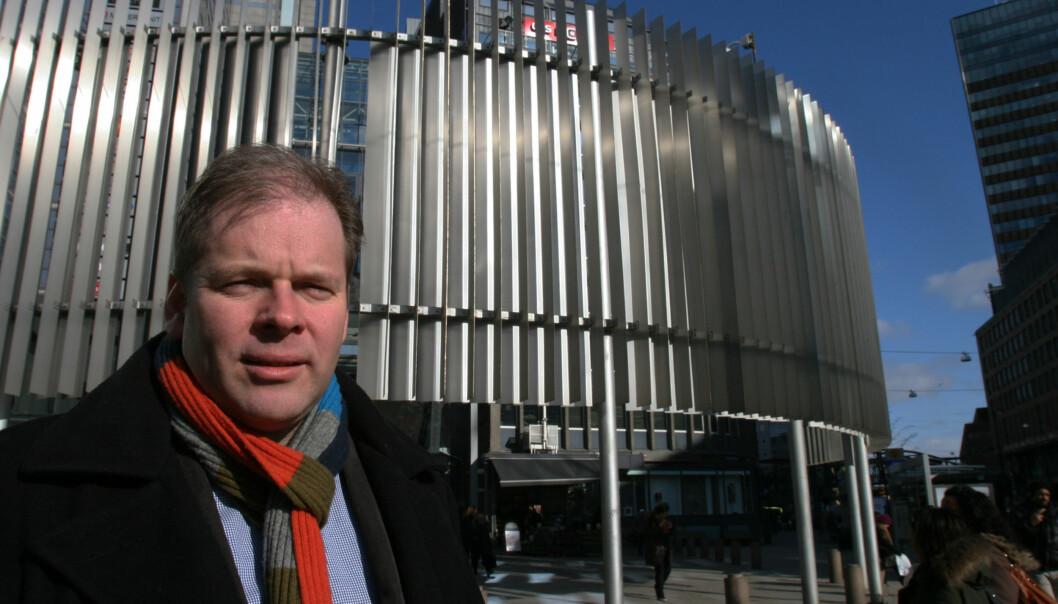 Terje Johansen har tatt tak. Det skal ikke være redaksjonens medlemmer som skriver testene annonsørene betaler for. FOTO: Martin Huseby Jensen