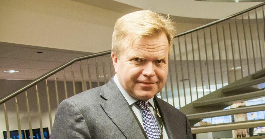 Ytelser til avgått konsernsjef Gunnar Bjørkavåg i NHST tynger førstekvartalsresultatet. Foto: Kathrine Geard