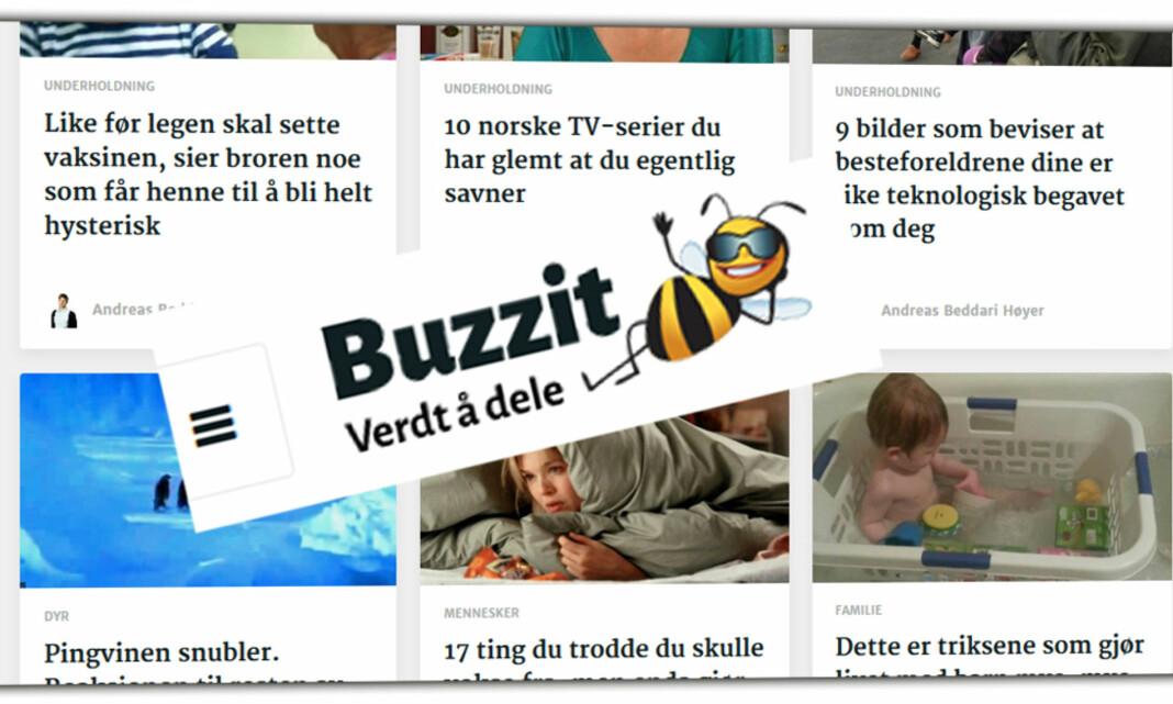 Amedia selger Buzzit - blir helkommersiell tjeneste uten redaktørplakat