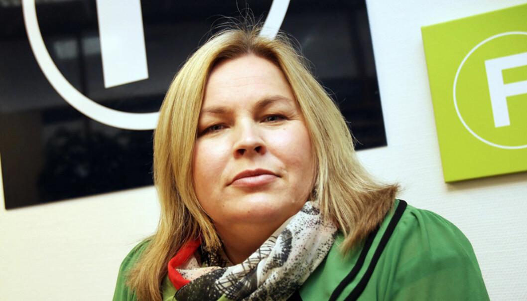 Fagpresse-direktør Elin Floberghagen ser totalopplaget blant medlemmene holder seg flatt. Men annonseomsetningen er ned nær 5 prosent. Arkivfoto Journalisten