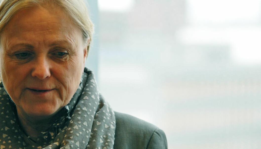 Kulturmionister Thorhild Widvey møter kritikk fra minoritetshold. Foto: Martin Huseby Jensen