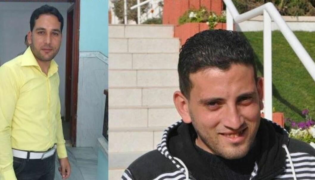 Journalistene Sameh Al-Aryan (til venstre) og Ramu Rayan ble drept i bombeangrep på Gaza-stripen onsdag. Foto: IFJ