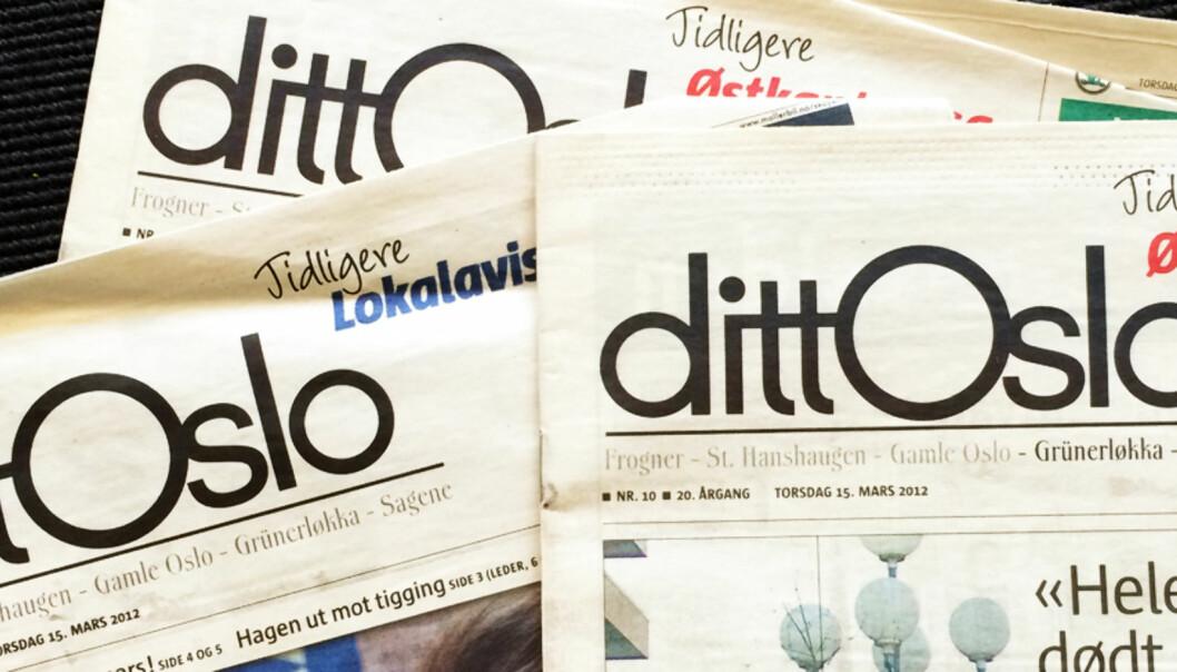 DittOslo.no er solgt og Nordstrands Blad får nye eiere, men Dagsavisen som i flere år har forsøkt å ta over avisene hørte aldri noe fra selger. Illustrasjonsfoto: Birgit Dannenberg