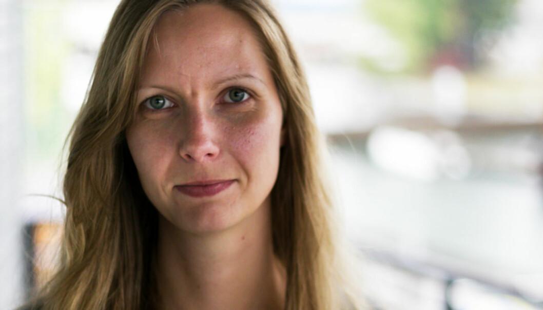 Silje Gomnæs synes det er vanskelig å være i et forhold med mediebransjen. Foto: Vegard Unger Ellefsen