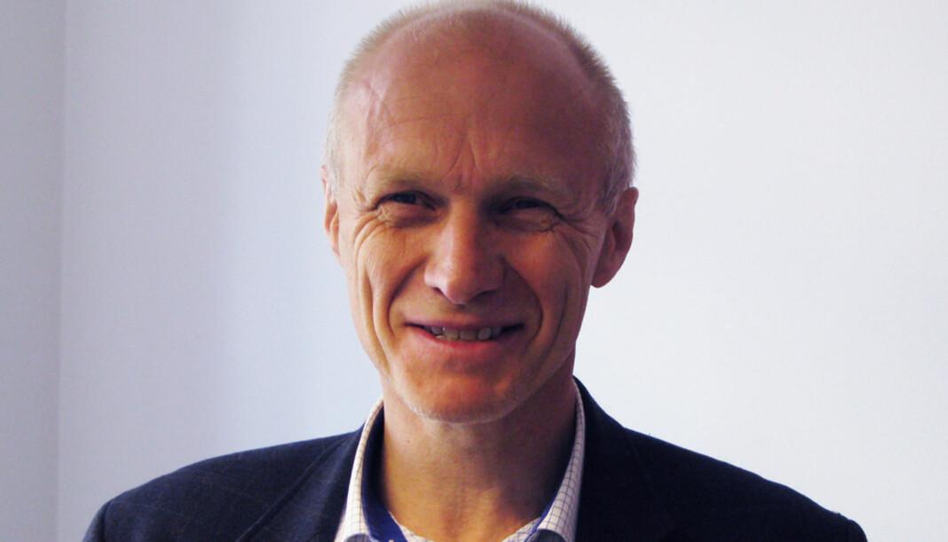 Administrerende direktør og ansvarlig redaktør Espen Udland tror ikke koronastøtten ville endret stort for omorganiseringen og nedbemanningen ABC Nyheter har gått gjennom.