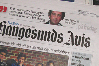 Einar Tho ny sjefredaktør i Haugesunds Avis