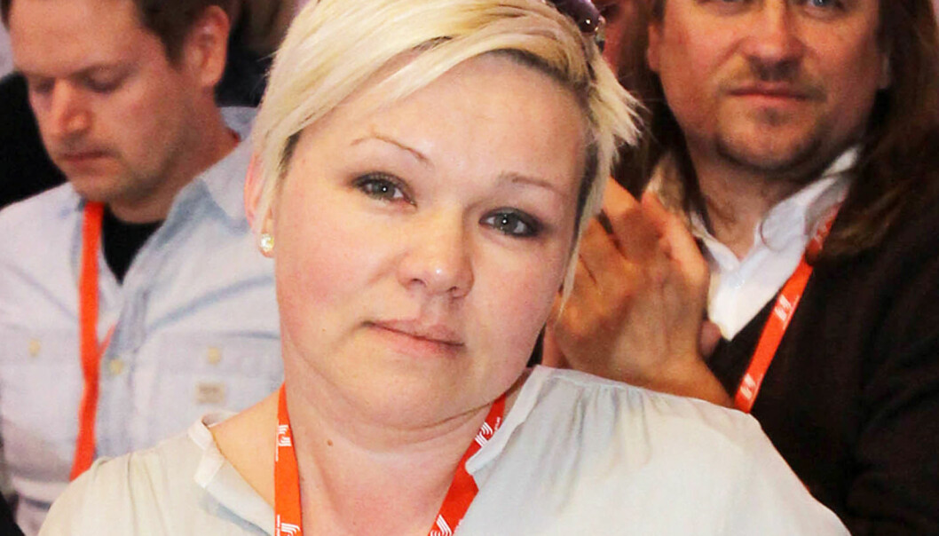 Henrikke Helland er leder for redaksjonsklubben Klubb 2 i TV 2. Arkivfoto Journalisten
