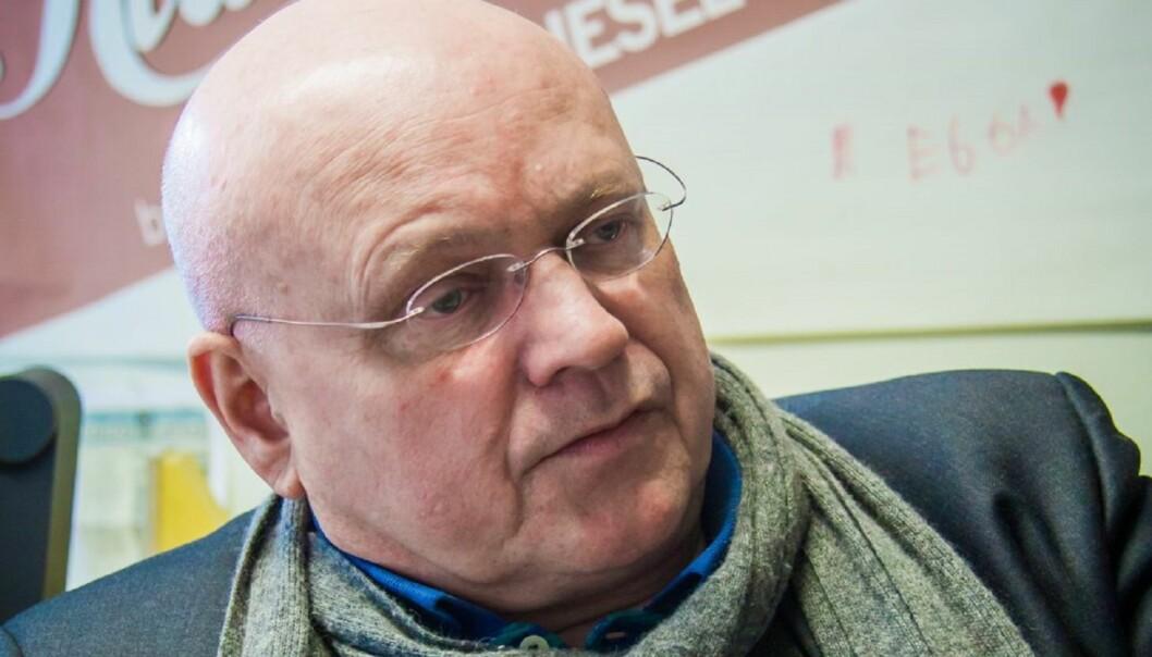 Klassekampens redaktør Bjørgulv Braanen er forsiktig med honoraret for nyhetsreportasje fra frilansere. Foto: Kathrine Geard