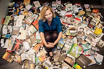 Så mange bøker må en anmelder lese i året