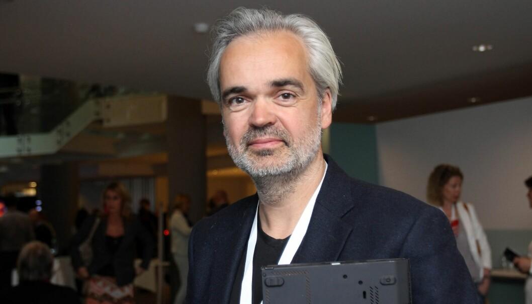 Sjefredaktør Eivind Ljøstad i Fædrelandsvennen på Nordiske Mediedager ved en annen anledning. Arkivfoto: Birgit Dannenberg