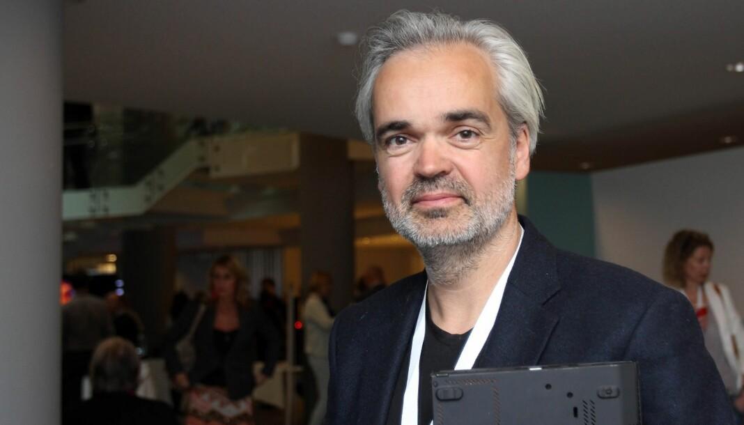 Fædrelandsvennen ved sjefredaktør Eivind Ljøstad utstyrte leserbrev med «hale», det førte til PFU-klage . Arkivfoto: Birgit Dannenberg