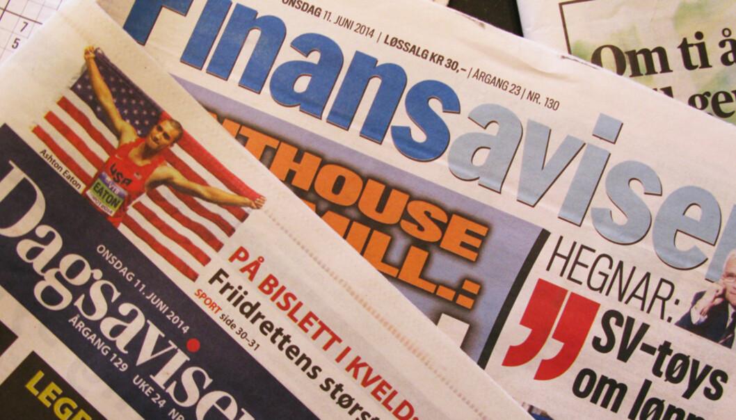 Finansavisen har lekt seg med tall og kommet fram til at Dagsavisen kanskje om fire år har nesten 14.000 flere aviser i opplaget sitt. Det vil ifølge næringslivsavisen bety økt pressestøtte med 24 millioner kroner.