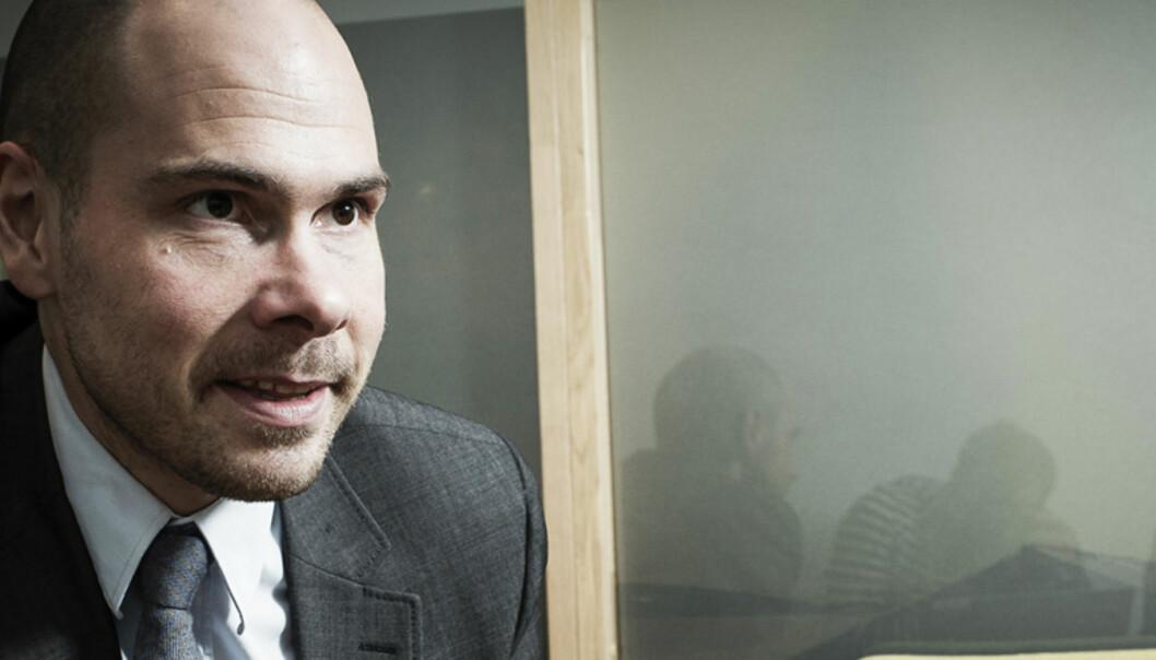 Anders Opdahl i Nordlys er ikke fornøyd med hvordan debatten under en artikkel utviklet segFoto: Lars Åke Andersen