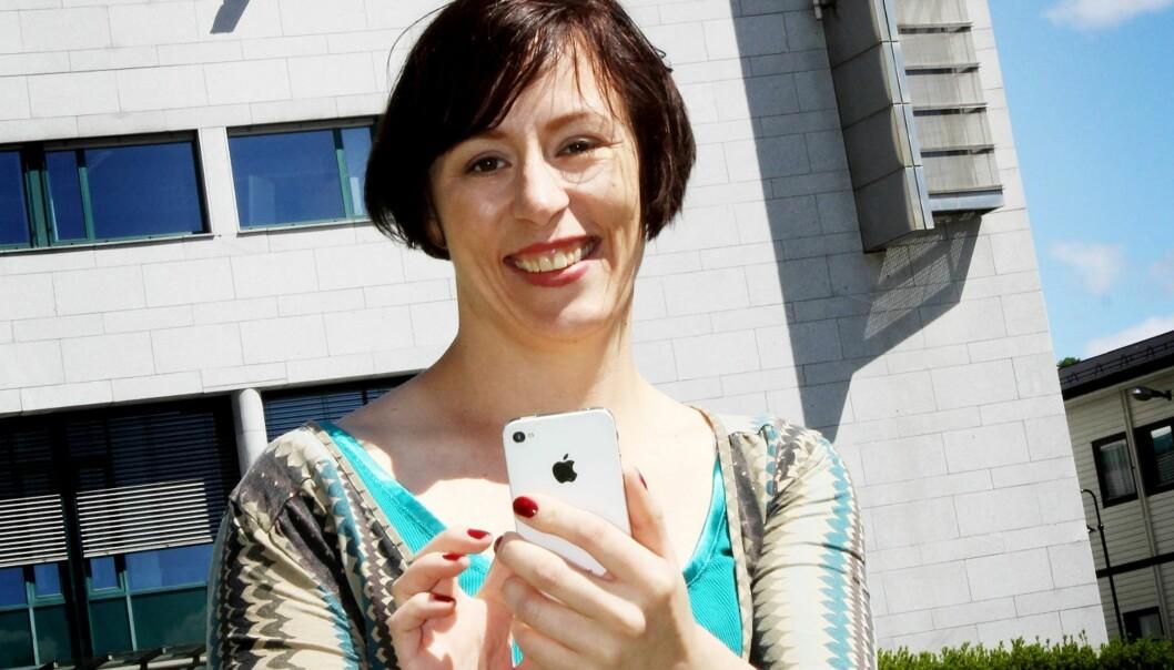 Ingeborg Volan, NONA-leder og spesialrådgiver for sosiale medier i NRK, er ikke overrasket over svarene fra netthodene. Foto: Birgit Dannenberg