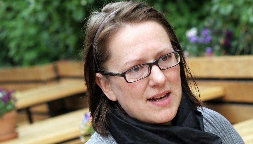 Marte Michelet har vært ansatt i Dagbladet siden 2006. FOTO: BIRGIT DANNENBERG