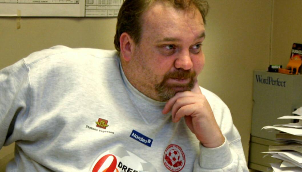 Rune Sæbønes river nettbetaling på nettsidene deres. Foto: Kathrine Geard.