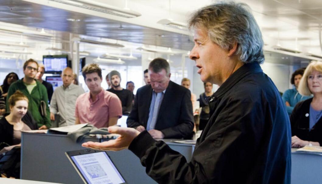 Sjefredaktør og administrerende direktør Torry Pedersen i VG. Foto: Kathrine Geard