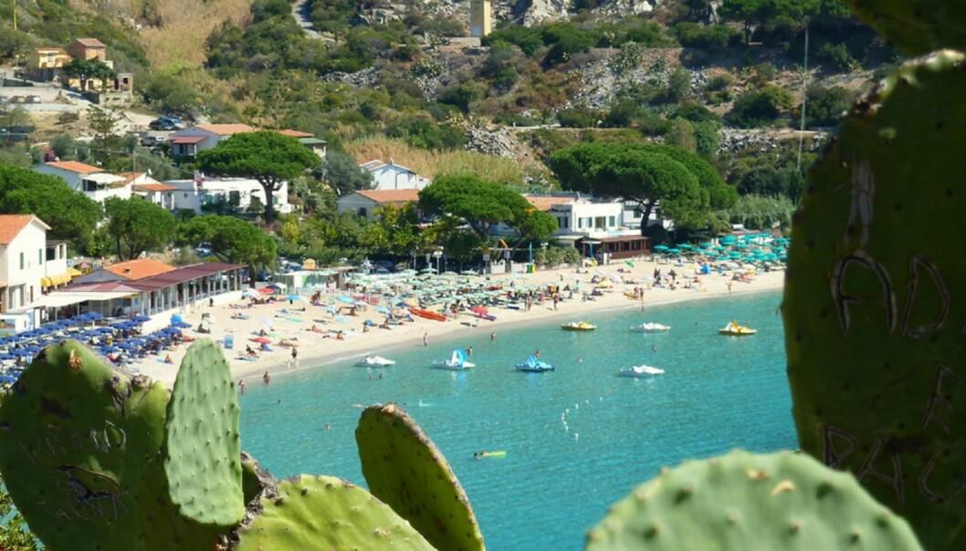 PRESSETUR: Ryanair har invitert norske journalister hit til den italienske øya Elba denne uka. Foto: David van der mark/Flickr