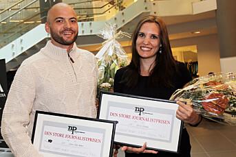 Solberg og Hammer vant Den store journalistprisen