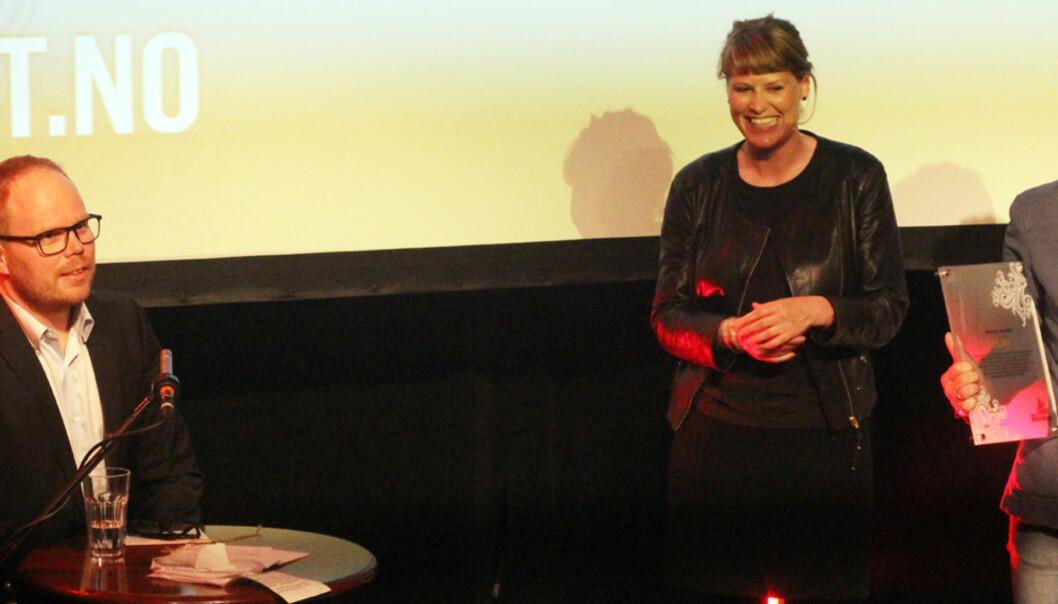 BT.no ble kårets til årets nettsted. Foto: Birgit Dannenberg