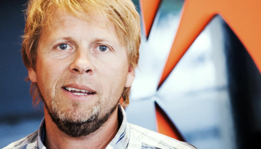 Torgeir Lorentzen, redaktør i  Gjengangeren.Foto:Kathrine Geard