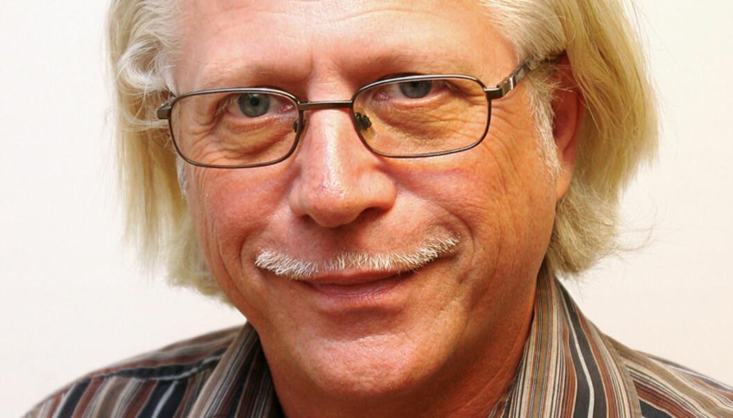 Redaktør Helge Øgrim i Journalisten. Foto: Birgit Dannenberg