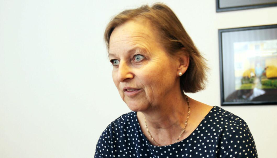 Klubbleder Tone Rudberg i Aller forberederer seg på forhandlinger rundt nedbemanningene i konsernet. Foto: Birgit Dannenberg