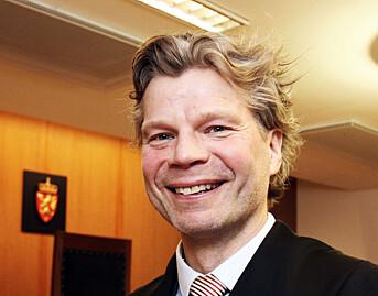 NJ-advokat Knut Skaslien i forbindelse med saken i 2014.