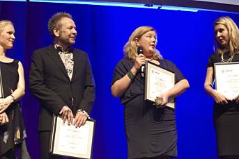 BT og Dagbladet delte Skup-prisen