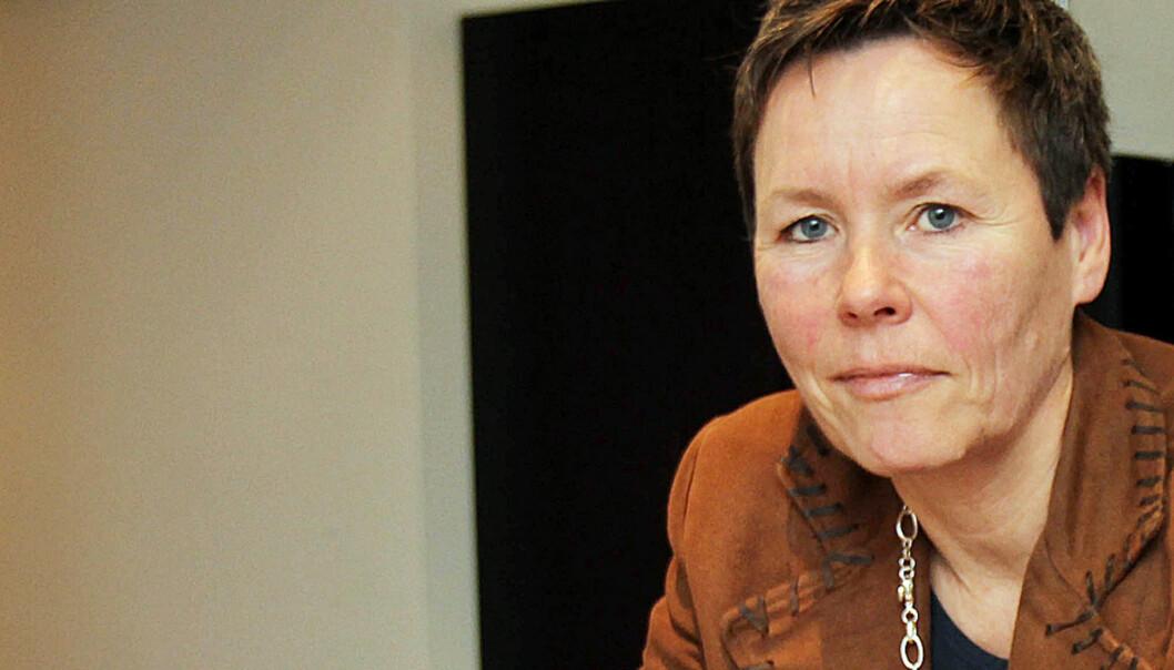 Mangeårig medarbeider i Fagpressen, Berit Nyman, er skuffet over hvordan Even Trygve Hansen etterlot økonomien i organisasjonen. Foto: Birgit Dannenberg