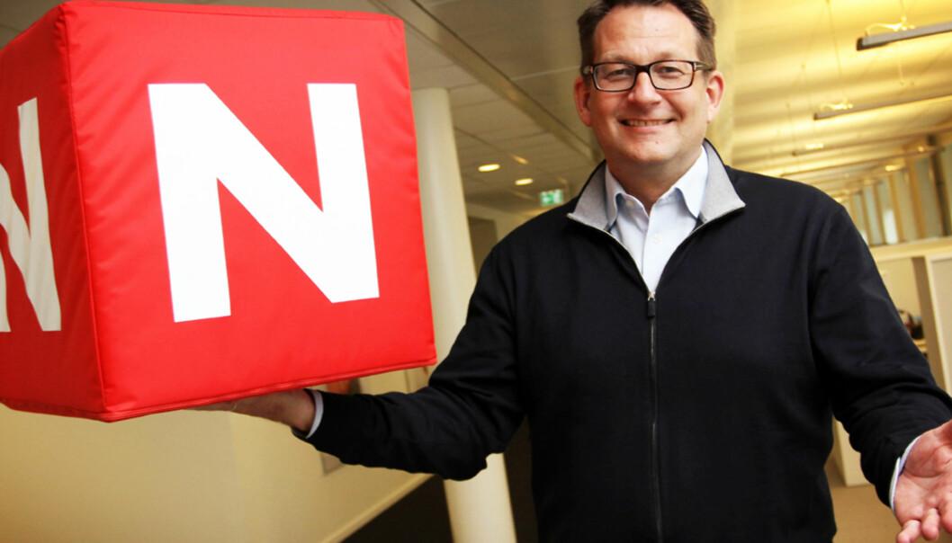 Harald Strømme blir Discovery-sjef også i Sverige. Foto: Birgit Dannenberg