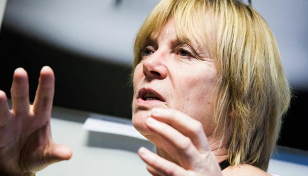 PFU-leder Hilde Haugsgjerd. Foto:Kathrine Geard