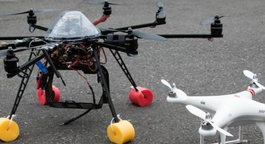 Advarer mot droneforbud ved ulykker