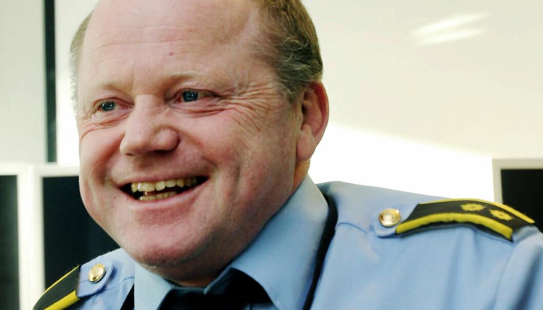 Martin Strand i operasjonssentralen Oslopolitiet. Foto: Birgit Dannenberg